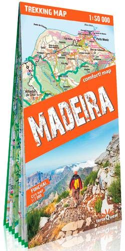 terraQuest Trekking Map Madeira