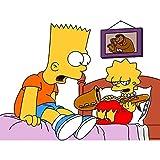 wgkgh Puzzles Rompecabezas Adultos Niños Cosplay Anime The Simpsons 1000 Piezas Puzzles Collection Puzzles Cada Pieza Es Unica Tecnología encajan Perfectamente Jigsaw Puzzles 50CMX75CM