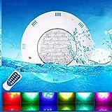Iluminación de Estanques y Piscinas - Luz de Piscina Sumergible, Resistente al Agua Proyector RGB Sumergido, Luz Subacuática LED Multicolor, 24W AC 12V IP68