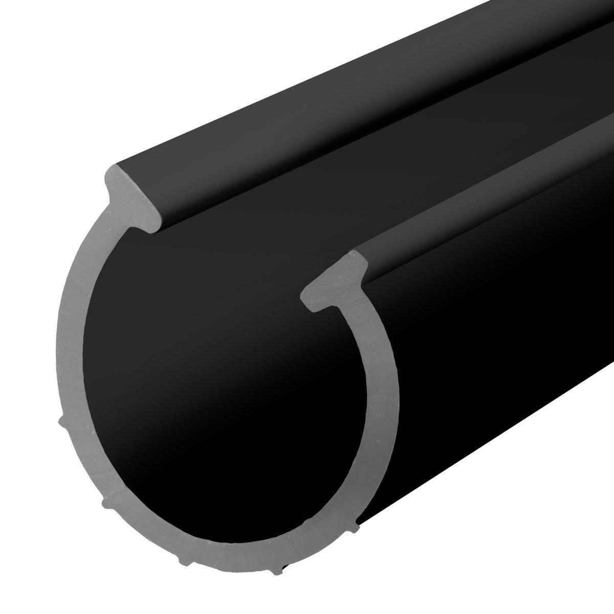 STEIGNER Junta de Garaje Umbral de Garaje de EPDM 4,5 m 14 mm x 78 mm SGD01