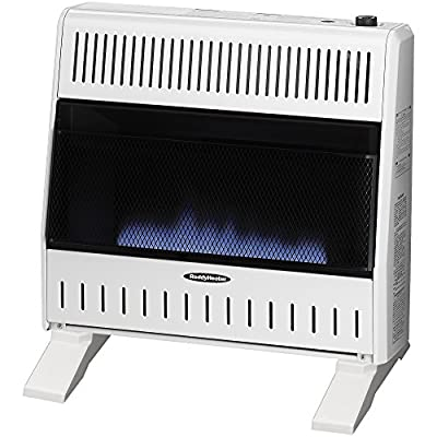 Sure Heat Gas Space Heater with Thermostat and Blower
