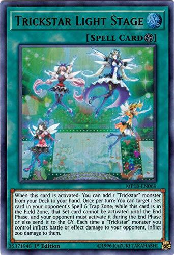 Yu-Gi-Oh! - Trickstar Light Stage (MP18-EN069) - 2018 Mega-Tin Mega Pack - 1st Edition - Ultra Rare