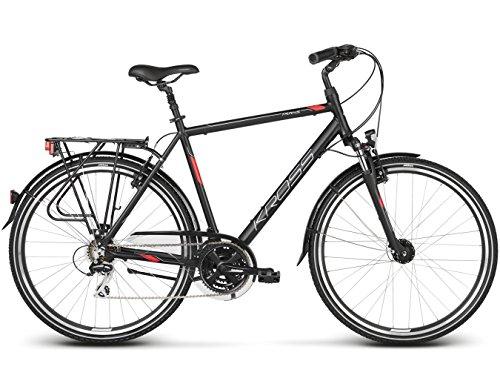 KROSS Fahrrad Trans 3.0, Black RED 28'