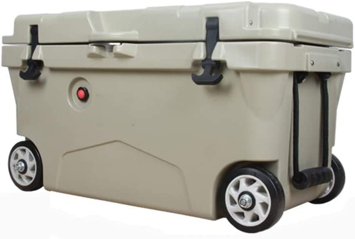 DALIBAI Large Courier shipping Dealing full price reduction free 110 litres Portable Coo Insulated Trolley Coolbox