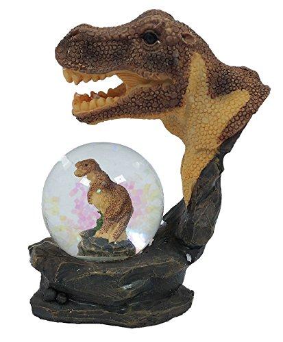 PIA International Glitzerkugel Dinosaurier Schneekugel Tier Tiere T-Rex Dino Schneekugeln