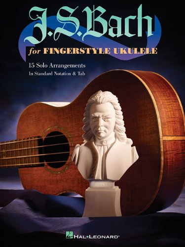 J.S. Bach For Fingerstyle Ukulele: Noten, Songbook für Ukulele