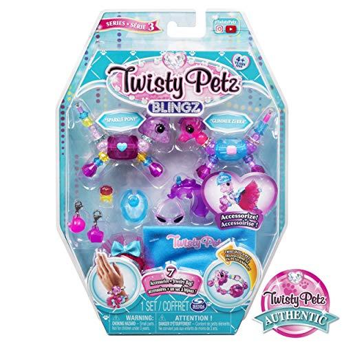Twisty Petz 6054460 - Blingz Verwandlungsarmbänder mit Accessoires, unterschiedliche Varianten