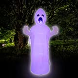 Joiedomi 9 FT Tall Halloween Inflatable Spooky Scary Horror Ghost Inflatable Yard Decoration with Build-in LEDs Blow Up Inflatables for Halloween Party Indoor, Outdoor, Yard, Garden, Lawn Decorations