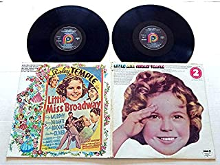 LITTLE MISS SHIRLEY TEMPLE - Pickwick Records 19?? - USED DOUBLE Vinyl Record Album - 19?? Pressing - RARE! - 20 Songs - On The Good Ship Lollipop - Animal Crackers In My Soup - Early Bird