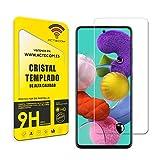 ACTECOM Protector de Pantalla compatible con Samsung Galaxy A52 5G cristal templado Vidrio Premium