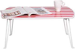 Stylish Folding Bed Folding Table Waterproof Folding Table Black  Pink And Blue  Color Size L W H  32cm