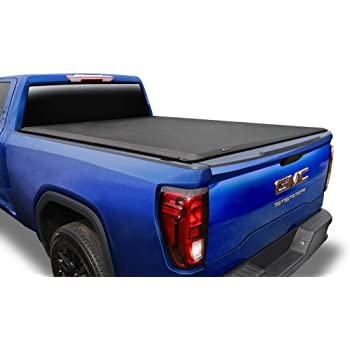 "Tyger Auto T1 Soft Roll Up Truck Bed Tonneau Cover for 2007-2013 Chevy Silverado / GMC Sierra 1500 Fleetside 5'8"" Bed TG-BC1C9003"