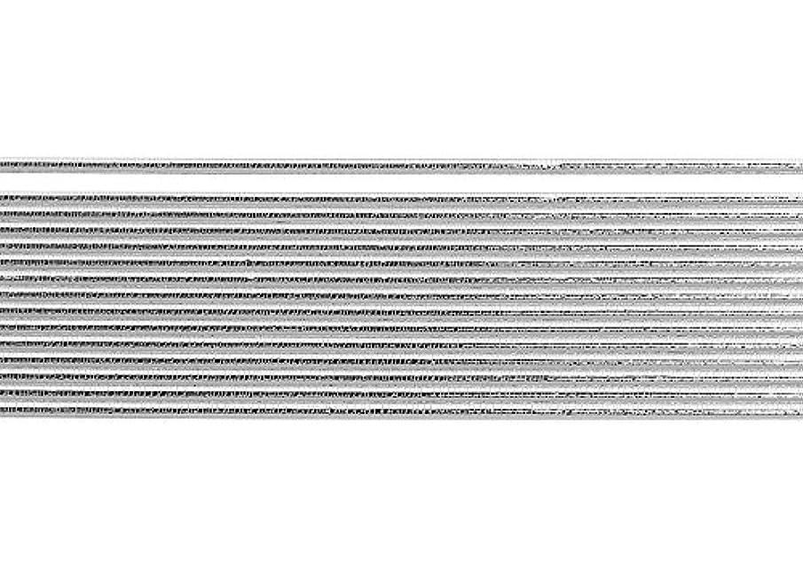 Knorr Prandell Decorative Wax Stripe with Round Structure 3mmx20cm Silver