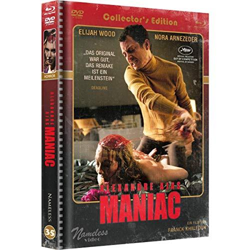 Maniac - Limited Uncut Mediabook - Retro Edition 6 Disc UHD - DVD - Blu-ray + Soundtrack