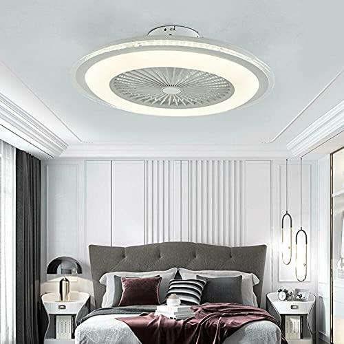 SHZICMY Ventiladores para el techo con lámpara