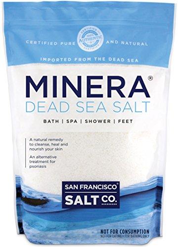 Minera Dead Sea Salt - 10 lb. Fine Grain Bulk Bag