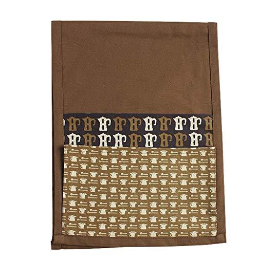 Praktisk hängväska på sängen Soffstol Sätta ihop dubbelväska Bladbok Bärbar dator Mobil Telefon Solid (Färg: B) (Hög kapacitet)