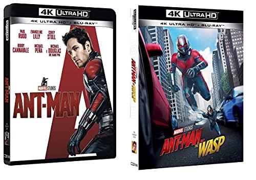 Ant-Man + Ant Man and the Wasp (2 film 4K ULTRA HD + 2 BLU-RAY) Edizione Italiana