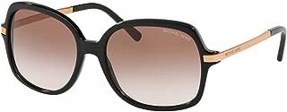 MK2024 Adrianna II Sunglasses Black w/Brown Peach Gradient Lens 57mm 300513 MK 2024
