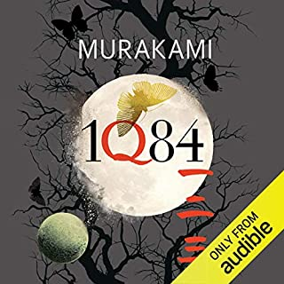 1Q84                   By:                                                                                                                                 Haruki Murakami,                                                                                        Jay Rubin (translator),                                                                                        Philip Gabriel (translator)                               Narrated by:                                                                                                                                 Allison Hiroto,                                                                                        Marc Vietor,                                                                                        Mark Boyett                      Length: 46 hrs and 45 mins     240 ratings     Overall 4.3