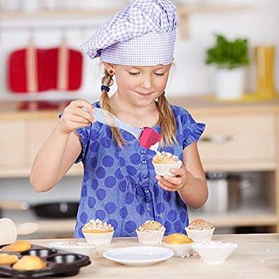 Silicone Basting Pastry Brushes Set, 4PCS High ...