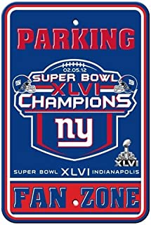NFL New York Giants Super Bowl XLVI Champions 18