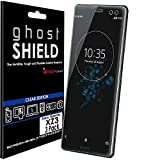 TECHGEAR [3 Pack] Protection Écran pour Xperia XZ3 [ghostSHIELD] Film de Protection Souple en TPU...