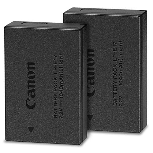 Canon LP-E17 Lithium-Ion Battery 2-Pack for Canon...