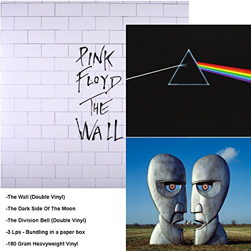 The Wall - Dark Side Of The Moon - The Division Bell - 3 LP Bundling