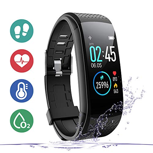 WalkerFit Fitness Tracker, Activity Tracker with Heart...