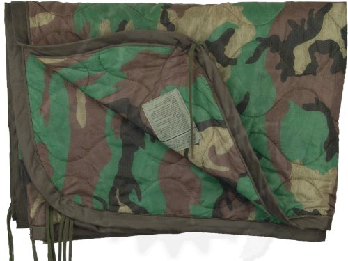 Poncho Liner Woodland Camo Previously Issued