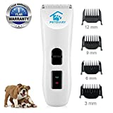 Nom Nom Puppy Dog Hair Clippers Pet Grooming Clippers Shaver for Dog...