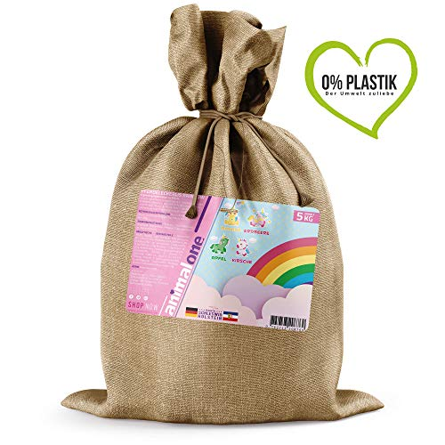 animalone - Pferdeleckerlis Rainbow - 5 kg im Jutebeutel - Die gesunde Belohnung