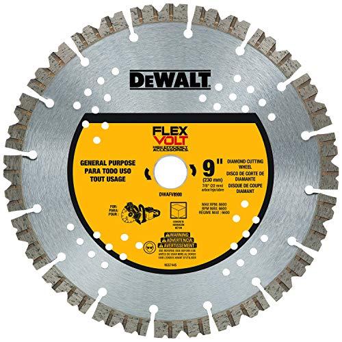DEWALT 9in. FLEXVOLT Diamond Cutting Wh
