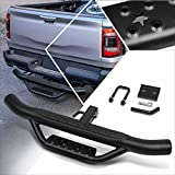 Steel Trailer Towing Hitch Step Fits 2 Inch Receiver,Rear Bumper Guard | 36'Wide X 4'OD (Black)