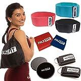 PAZFIT Set Bandes de Résistance – Kit d'équipement Fitness pour Entrainement...