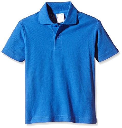 Stedman Apparel Jungen Polo/ST3200 Poloshirt, Blau (Bright Royal), 11 Jahre