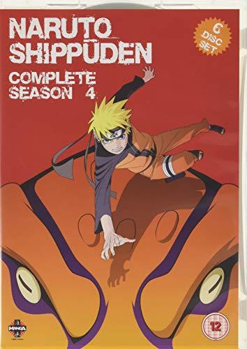 Naruto - Shippuden: Complete Series 4 [DVD] [Reino Unido]
