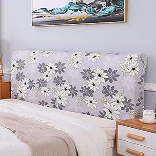 LANG ZI Cubierta de la Cabecera Funda de Cabecero de Cama Elástica de Cama Prueba de Antipolvo Funda de Cama de La Cabecera Bed Headboard Cover (Color : J, Size : 220-240cm)