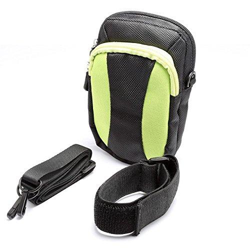 Sac banane réglable avec support pour bouteille d'eau pour iPhone 6 Plus 5.5 6s Plus pour la course à pied, la randonnée, le cyclisme, le camping, les voyages, les sports de plein air Vert