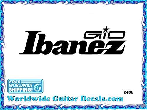 Ibanez Gio Guitar Decal Headstock Waterslide Restoration logo 248b