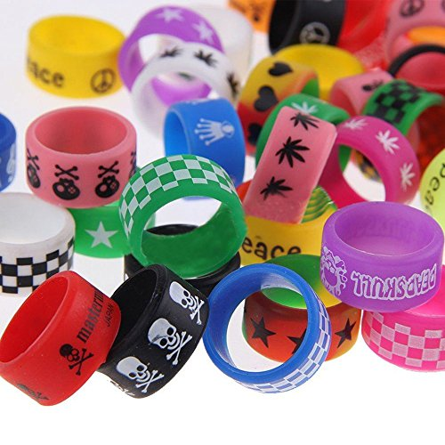 Lot of 10 Vape Band Ring Silicone Anti Slip Band for RBA RDA Tank Vapor Mechanical Vape Mod Nicotine Free