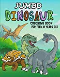 Jumbo Dinosaur Coloring Book For Teen 18 Years Old: Educational Dinosaur Coloring Books. Realistic Dinosaur Designs Coloring Book With TRex, ... Spinosaurus, Allosaurus, Diplodocus