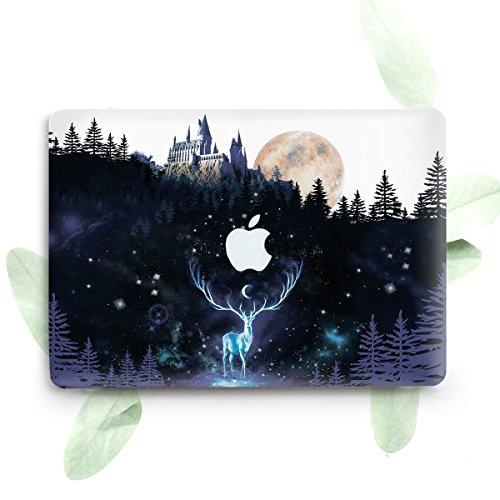 Estuche rígido protector de plástico ZVStore para Macbook (Pro 13 pulgadas 2016 (A1706 y A1708), Harry Potter)