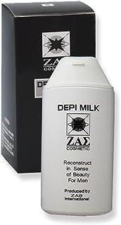 ザス(ZAS)除毛クリーム:デピミルク 150ml 医薬部外品 スネ毛・腕毛・胸毛・腹毛・脇毛もスベスベ 低刺激処方でお肌にやさしい メンズコスメ