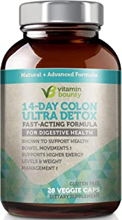 Vitamin Bounty Colon Detox - 14 Day Cleanse that supports digestive health and cleanse