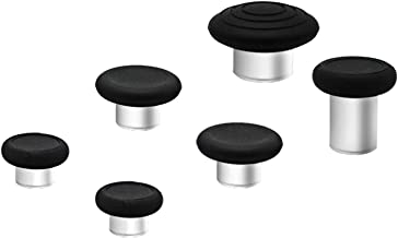 E-MODS GAMING 6 in 1 Metal Thumbsticks Grip Joysticks Replacement for Elite Series 2 Controllers Xbox One - BK