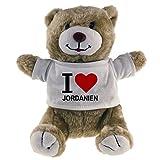Oso de peluche I Love Jordania Classic Beige