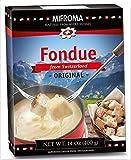 14oz Mifroma Swiss Cheese Fondue Original, Heat & Serve, Ready Made (1 Box)