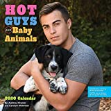 Hot Guys and Baby Animals 2020 Wall Calendar